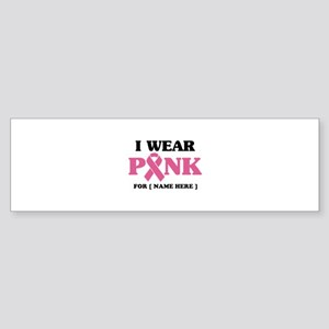 Breast Cancer Cause Sticker (Bumper)