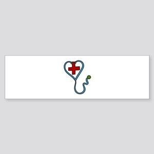 Stethoscope Bumper Sticker