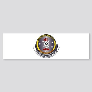SSI - 3rd Battalion - 1st Marines USMC Sticker (Bu