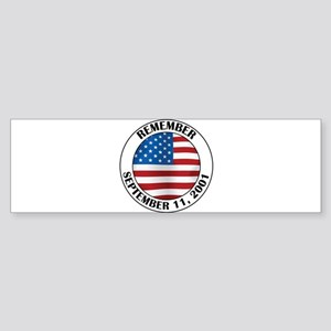 Remember 9-11 Sticker (Bumper)