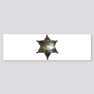 Mayberry Deputy Badge Bumper Sticker