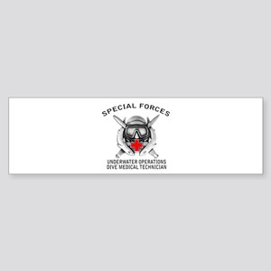 Diving Medical Technician w/ Sticker (Bumper)
