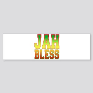 Jah Bless Bumper Sticker