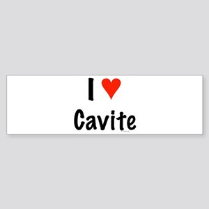 I love Cavite Bumper Sticker
