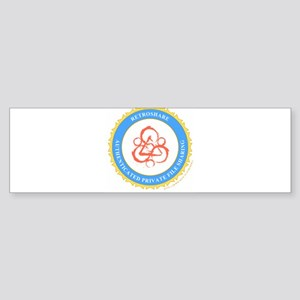 retroshare seal Bumper Sticker