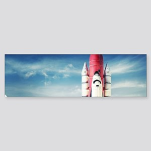 Space Shuttle Launch Sticker (Bumper)