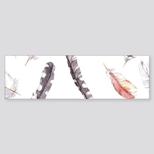 Feathers Sticker (Bumper)