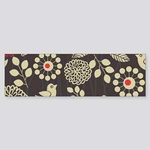 Woodland Birds Bumper Sticker