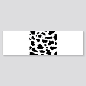 Cow pattern Bumper Sticker