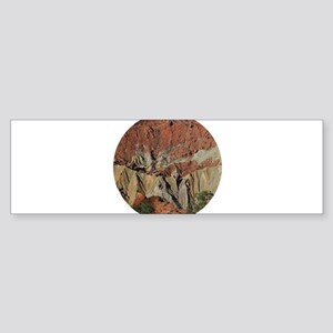 Upheaval Dome Bumper Sticker