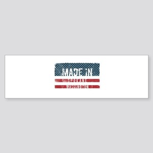 Made in Spokane, Washington Bumper Sticker