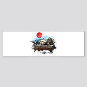 Japanese Palace Bumper Sticker