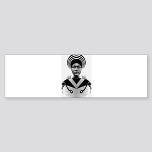 Dark homonyms african art Bumper Sticker