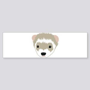 Women's Ferret Bumper Sticker