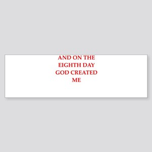 god Bumper Sticker