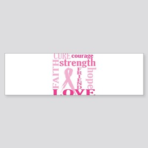 Breast Cancer Friend Support Sticker (Bumper)