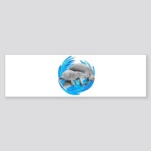 MANATEE Bumper Sticker