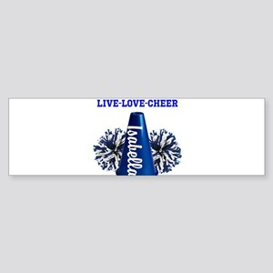 cheerleader personalize Bumper Sticker
