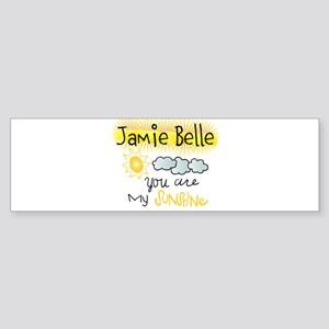 You are my sunshine, Personalize Bumper Sticker