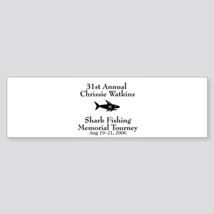 Shark Fishing Tourney Bumper Sticker