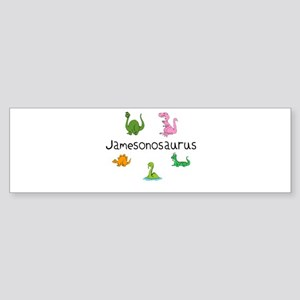 Jamesonosaurus Bumper Sticker