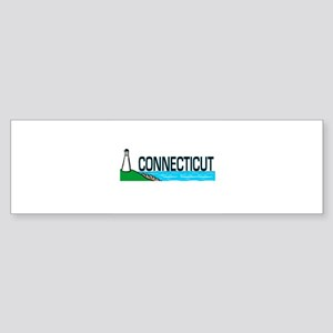Connecticut Ligthouse Bumper Sticker