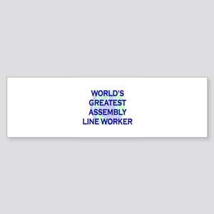 World's Greatest Assembly Lin Bumper Sticker
