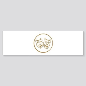 masks2-white Bumper Sticker