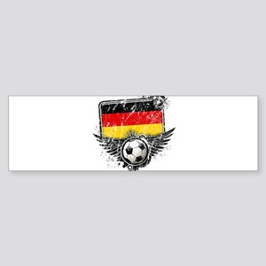 Soccer Fan Germany Sticker (Bumper)
