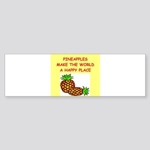 PINEaPPLES Sticker (Bumper)