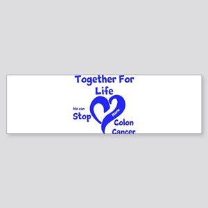 Personalize Colon Cancer Sticker (Bumper)