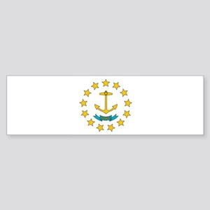 Rhode Island flag Bumper Sticker