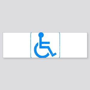 Disabled Sticker (Bumper)