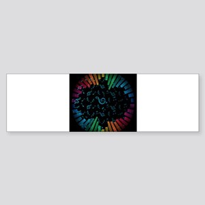 Decorative - Decoration - Music Bumper Sticker
