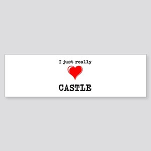 The Love for Castle Bumper Sticker