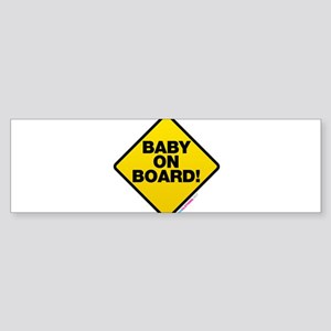 Baby On Board Sticker (Bumper)