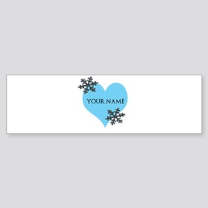 FROZEN HEART Bumper Sticker