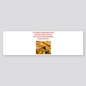 pecans Sticker (Bumper)