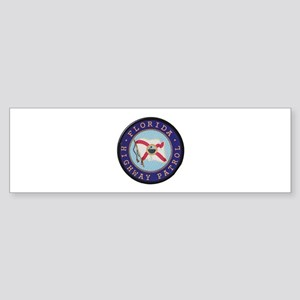 Florida Highway Patrol Bumper Sticker