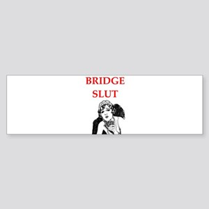 duplicate bridge Bumper Sticker
