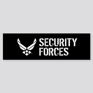 USAF: Security Forces Bumper Sticker