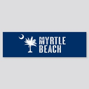 Myrtle Beach, South Carolina Sticker (Bumper)