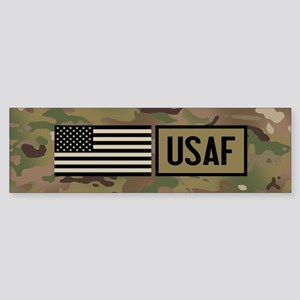 U.S. Air Force: USAF (Camo) Sticker (Bumper)