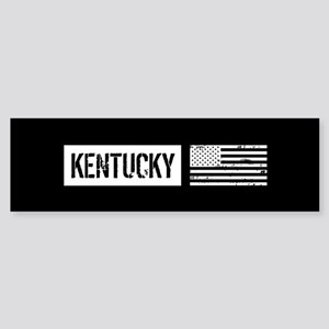 U.S. Flag: Kentucky Sticker (Bumper)