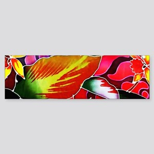 No. 005 Batik Art Asia Masterpiece Bumper Sticker