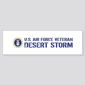 U.S. Air Force: Desert Storm Vete Sticker (Bumper)