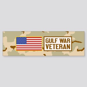 Gulf War Veteran Sticker (Bumper)
