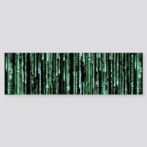 Matrix Code Sticker (Bumper)