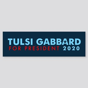 Tulsi Gabbard for President Sticker (Bumper)