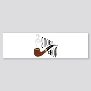 Smoke Shop Bumper Sticker